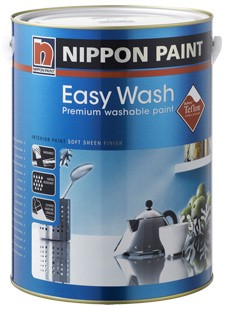 Nippon Paint Easy Wash, now with Teflon ™